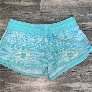 Blue lounge shorts